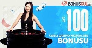 Megabahis Canlı Casino Hoşgeldin Bonusu