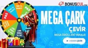 Megabahis Mega Çarkıfelek Kampanyası