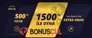 Mobilbahis İlk Para Yatırma Bonusu 1.000 TL