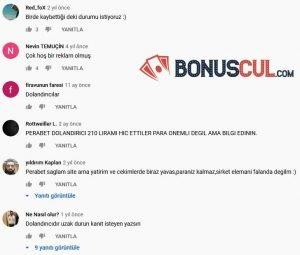 Perabet Youtube Yorumları