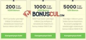 Bets10 Hoşgeldin Bonusu Kampanyası